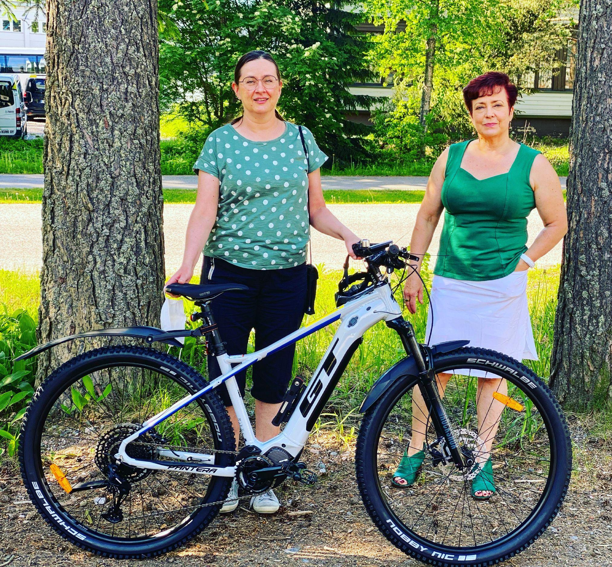Hollolan apteekin työsuhde-eduksi polkupyöräetu