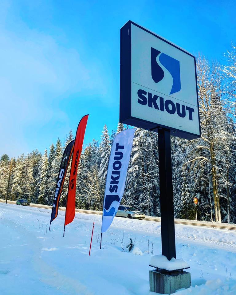Ski Out suksitestipäivä 6.2.2021 hiihtokeskus Purnussa