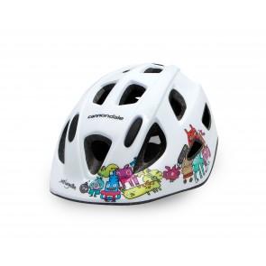 Cannondale Burgerman Colab Kids Helmet 2019 lasten pyöräilykypärä valkoinen