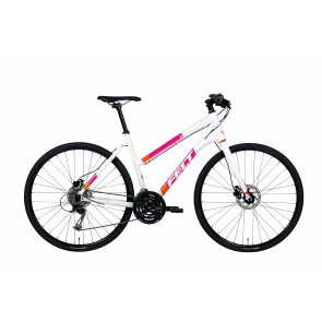 Felt QX 75 Disc W White naisten hybridipyörä