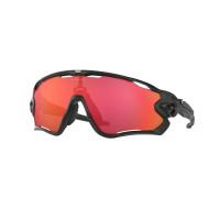 Oakley Jaw Breaker Matte Black Prizm Trail Torch urheilu/aurinkolasit