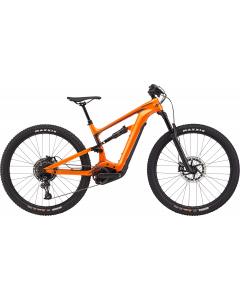 Cannondale Habit Neo 3 2020 täysjousitettu sähkömaastopyörä oranssi