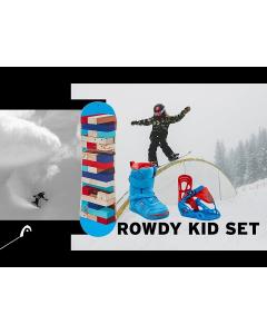 Head Rowdy Kid 2020 lasten lumilauta