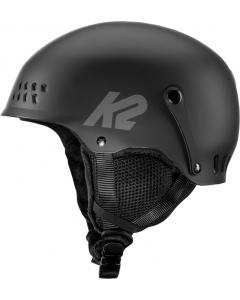K2 Entity lasten ja nuorten laskettelu/pyöräilykypärä musta