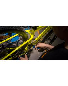 Uuden polkupyörän kasaus - Tehdaspakkauksesta ajokuntoon