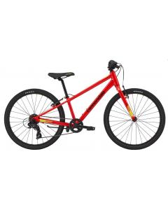 Cannondale Kids Quick 24 2020 lasten hybridipyörä vaaleanpunainen