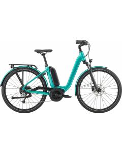 Cannondale Mavaro Neo City 4 2020 hybridisähköpyörä turkoosi