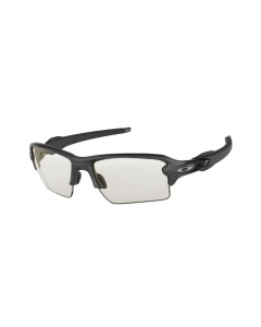 Oakley Flak 2.0 XL Steel Clear to Black Photochromic urheilu/aurinkolasit