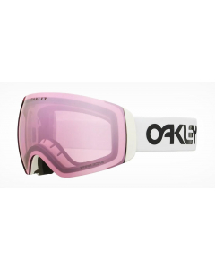 Oakley Flight Deck XM FP White Prizm Hi Pink GBL laskettelulasit