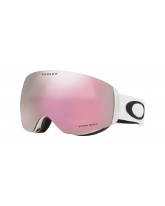 Oakley Flight Deck XM Matte White Prizm Hi Pink Iridium laskettelulasit