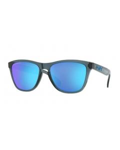 Oakley Frogskins Crystal Black Prizm Sapphire Polarized aurinkolasit