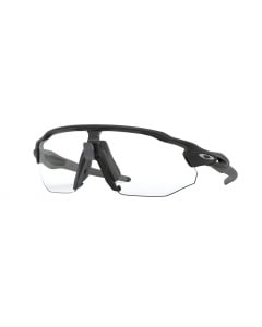 Oakley Radar EV Advancer Matte Black Clear Black Iridium Photochromic urheilulasit