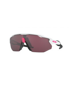 Oakley Radar EV Advancer Polished White Prizm Road Black