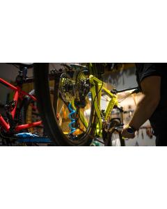 Polkupyörän huolto - Keskiötyöt