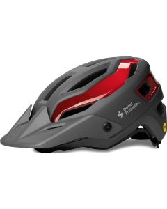 Sweet Protection Trailblazer MIPS maastopyöräilykypärä harmaa/punainen