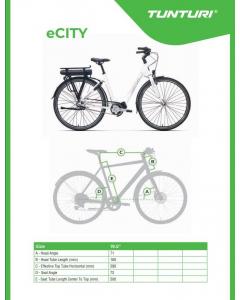 Tunturi eCity 2020 sähkö-citypyörä