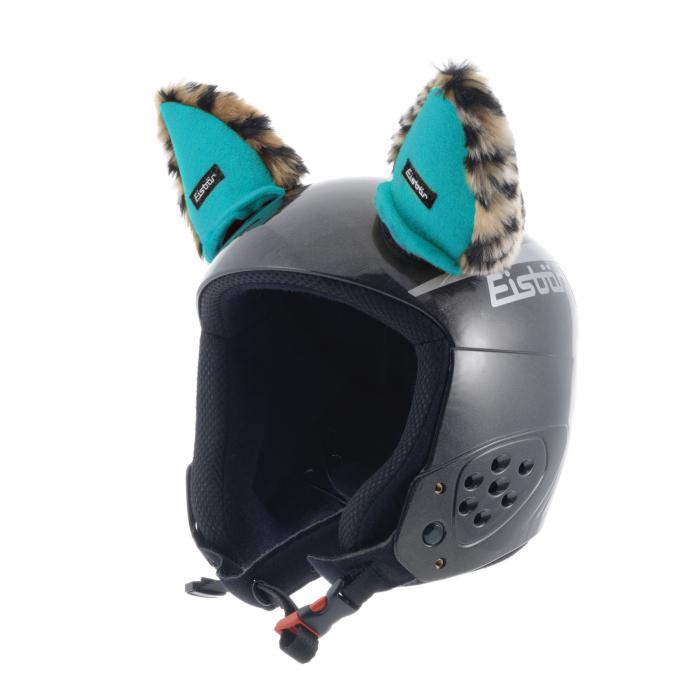 Eisbär Helmet Ears kypäräkoriste turkoosi
