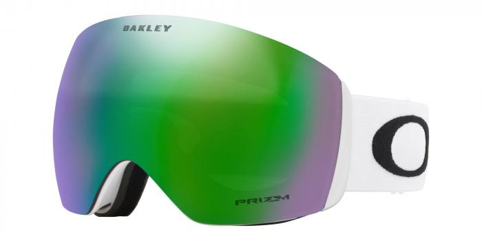Oakley Flight Deck Matte White Prizm Jade laskettelulasit