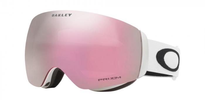 Oakley Flight Deck XM Matte White Prizm Hi Pink Iridium laskettelulasit