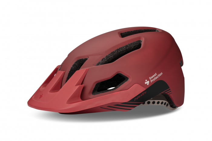 Sweet Protection Dissenter Helmet Matte Earth Red 2019