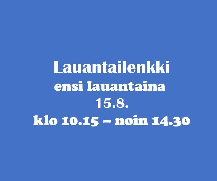 Ski Out Bike lauantain maastopyörälenkki 15.8.2020